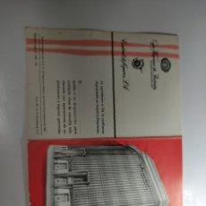 Coleccionismo Calendarios: 1963 CALENDARIO DESPLEGABLE CAJA HISPANA DE PREVISION BARCELONA. Lote 292305898