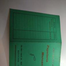 Coleccionismo Calendarios: 1968 CALENDARIO DESPLEGABLE PAPELERIA MERCANTIL BARCELONA RIUS I TAULET GRACIA. Lote 292307253
