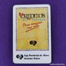 Coleccionismo Calendarios: CALENDARIO FOURNIER. CAJA PROVINCIAL DE ALAVA. 1983.. Lote 293766138
