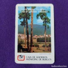 Coleccionismo Calendarios: CALENDARIO FOURNIER. CAJA DE AHORROS MUNICIPAL DE BURGOS. 1983.. Lote 293766428