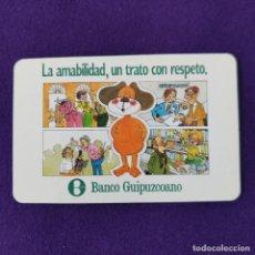 Coleccionismo Calendarios: CALENDARIO FOURNIER. BANCO GUIPUZCOANO. 1984.. Lote 293766833