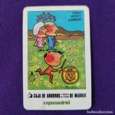 Coleccionismo Calendarios: CALENDARIO FOURNIER. CAJA MADRID. 1984.. Lote 293766873