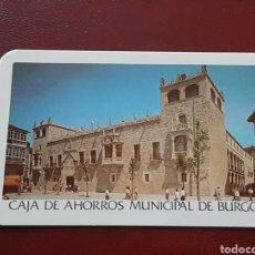 Coleccionismo Calendarios: RARO CALENDARIO DE RENFE 1988 Y CAJA DE AHORROS MUNICIPAL DE BURGOS CON LOS DÍAS AZULES. Lote 293919188