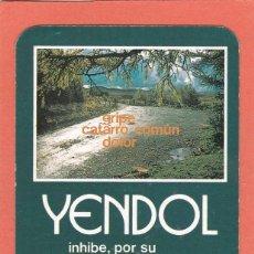 Coleccionismo Calendarios: CALENDARIO 1989 - YENDOL. FAES - MEDICAMENTO. Lote 294499963