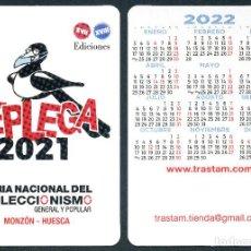 Coleccionismo Calendarios: CALENDARIOS BOLSILLO - REPLEGA TRASTAM 2022. Lote 294814703