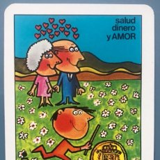 Collezionismo Calendari: CALENDARIO DE BOLSILLO HERACLIO FOURNIER 1984 CAJA AHORROS BADAJOZ BANCO. Lote 295514408