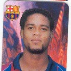 Coleccionismo deportivo: ULTIMA UNIDAD !!! CALENDARIO BOLSILLO **PATRICK KLUIVERT** EN EL BARÇA (AÑO 2003). Lote 26404137