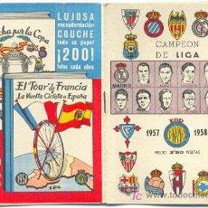 Coleccionismo deportivo: CALENDARIO DINAMICO 1957-58 - VER FOTOS ADICIONALES. Lote 10153817