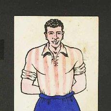 Coleccionismo deportivo: CARTON-PIZARRA-MARCADOR CON JUGADOR DE FUTBOL DEL GRANADA(8 X 26 CMS). Lote 4326601