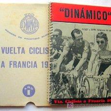 Coleccionismo deportivo: CICLISMO - VUELTA CICLISTA A FRANCIA 1956 - CALENDARIO DINAMICO. Lote 13900713