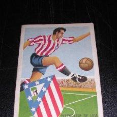 Coleccionismo deportivo: CALENDARIO DE LIGA 1957 -58, AT. MADRID. Lote 10328934