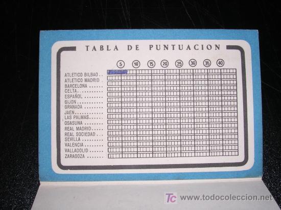 Coleccionismo deportivo: CALENDARIO DE LIGA 1957 -58, AT. MADRID - Foto 2 - 10328934