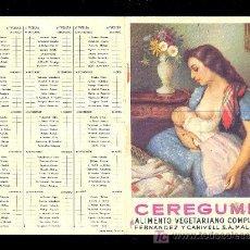 Coleccionismo deportivo: CALENDARIO. CAMPEONATO DE LIGA 52 - 53 CON PUBLICIDAD DE MALAGA.. Lote 18214182