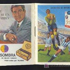 Coleccionismo deportivo: CALENDARIO DE LIGA 67 - 68 CON PUBLICIDAD DE SOLISOMBRA.. Lote 11692348