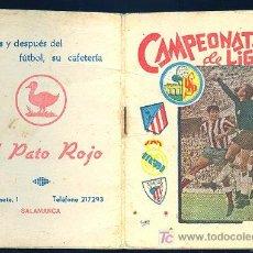 Coleccionismo deportivo: CALENDARIO. CAMPEONATO DE LIGA 69 - 70 CON PUBLICIDAD DE SALAMANCA.. Lote 11692353