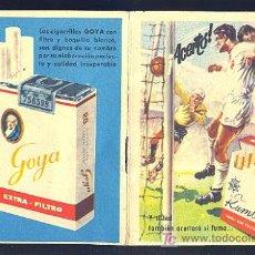 Coleccionismo deportivo: CALENDARIO DE LIGA 63 - 64 CON PUBLICIDAD DE CIGARRILLOS RUMBO.. Lote 20896371