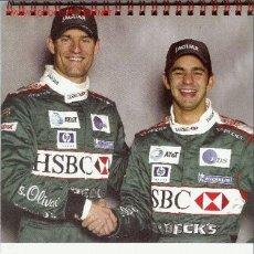Coleccionismo deportivo: CALENDARIO DE MESA FORMULA1 JAGUAR 2003. Lote 1731510