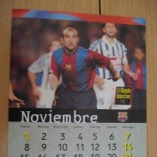 Coleccionismo deportivo: LAMINA F.C. BARCELONA : ABELARDO. Lote 9877071