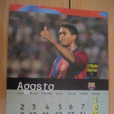 Coleccionismo deportivo: LAMINA F.C. BARCELONA : KLUIVER. Lote 9877092