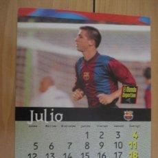 Coleccionismo deportivo: LAMINA F.C. BARCELONA : CELADES. Lote 9877109