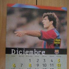 Coleccionismo deportivo: LAMINA F.C. BARCELONA : NADAL. Lote 9877150