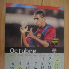 Coleccionismo deportivo: LAMINA F.C. BARCELONA : ANDERSON. Lote 9877218