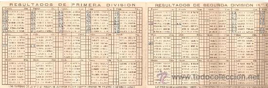 Coleccionismo deportivo: calendario campeonato nacional de liga 1953-54.publicidad agua oxig.abello y trilysin.ver +fotos. - Foto 3 - 26607334