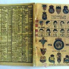 Coleccionismo deportivo: CALENDARIO DINÁMICO 1956-57. Lote 10423498