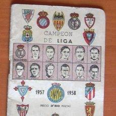 Coleccionismo deportivo: CALENDARIO DINAMICO 1957-58 - VER FOTOS ADICIONALES. Lote 11378231