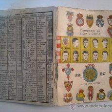 Coleccionismo deportivo: CALENDARIO DINAMICO LIGA FUTBOL TEMPORADA 1956-1957. Lote 11450608