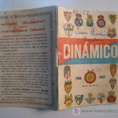 Coleccionismo deportivo: CALENDARIO DINAMICO LIGA FUTBOL TEMPORADA 1966-1967. Lote 11450611