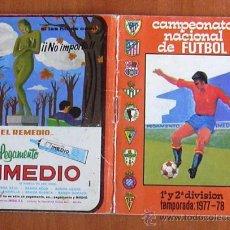 Calendario de liga 1977-78 - Pegamento Imedio