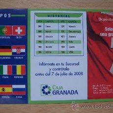 calendario eurocopa 2007. cajagranda.