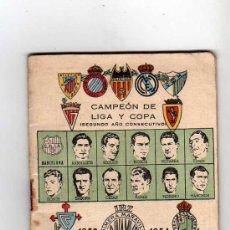 Coleccionismo deportivo: CALENDARIO DINAMICO 1953 - 1954. Lote 14849218