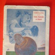 Coleccionismo deportivo: ALBACETE-CALENDARIO DEL QUINIELISTA 1955-56. 36 PÁGINAS.OBSEQUIO DIPUTACION PROVINCIAL. Lote 27150500