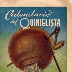 Coleccionismo deportivo: CALENDARIO DEL QUINIELISTA,1959.OBSEQUIO DE LA EXCMA.DIPUTACION DE VALENCIA.36,PAGINAS. Lote 27436277