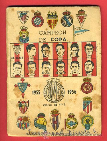 Calendario Futbol Primera Division.Calendario Futbol Dinamico Liga 1955 56 Pr Sold Through Direct