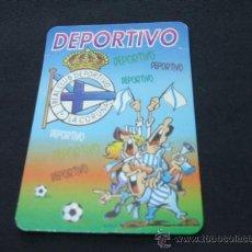 Coleccionismo deportivo: CALENDARIO DE BOLSILLO - REAL CLUB DEPORTIVO LA CORUÑA - 2002 - . Lote 22068535
