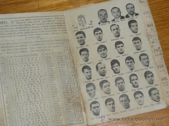 Coleccionismo deportivo: CALENDARIO DINAMICO TEMPORADA 1967 1968. - Foto 2 - 22589940