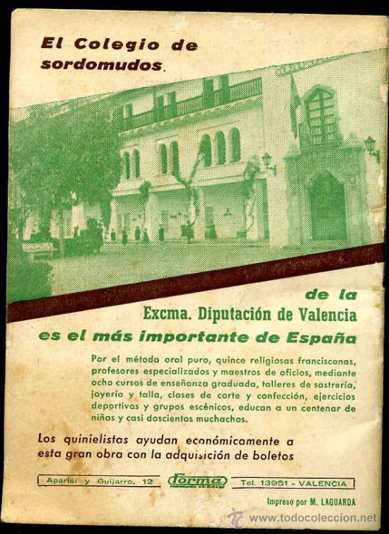 Coleccionismo deportivo: Calendario del quinielista año 1957 - 1958 - Foto 2 - 26691998