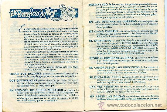 Coleccionismo deportivo: Calendario del quinielista año 1957 - 1958 - Foto 4 - 26691998