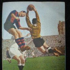 Coleccionismo deportivo: FÚTBOL. CALENDARIO DE LIGA. 1ª Y 2ª DIVISIÓN. 1952-1953.. Lote 23958688