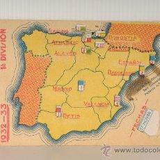 Coleccionismo deportivo: CALENDARIO DE FUTBOL. CAMPEONATO NACIONAL DE LIGAS 1932-33, PRIMERA DIVISION. Lote 25852439