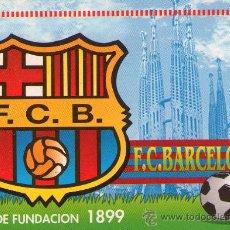 Coleccionismo deportivo: 331-CALENDARIO 1999- BARÇA- ESCUDO DEL CAMPEON CHAMPIONS 2011. Lote 27142295