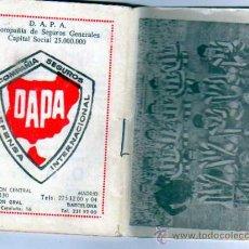 Coleccionismo deportivo: CALENDARIO DE LIGA DE FUTBOL 1972- 1973. . Lote 28329974