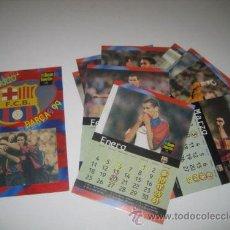 Coleccionismo deportivo: CALENDARIO COMPLETO DEL F.C.BARCELONA DEL 99. Lote 28821549