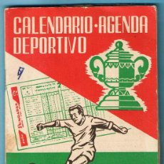 Coleccionismo deportivo: CALENDARIO AGENDA DEPORTIVO. TEMPORADA 1960 - 61.. Lote 29288408