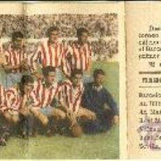 Coleccionismo deportivo: FUTBOL ALMANAQUE ATLÉTICO DE MADRID - CALENDARIO LIGA 1954-1955 - HISTORIAL LIGA Y CALENDARIO . Lote 29714933