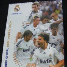 Coleccionismo deportivo: FUTBOL - REAL MADRID C.F 2008-2009 1 CALENDARIO COLGAR CON PRECINTO SIN ABRIR TIPO POSTER 42X30X84CM. Lote 36188088