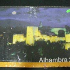 Coleccionismo deportivo: LA ALHAMBRA DE GRANADA - 1 CALENDARIO COLGAR CON PRECINTO SIN ABRIR TIPO POSTER 42X30X84CM. Lote 39333913